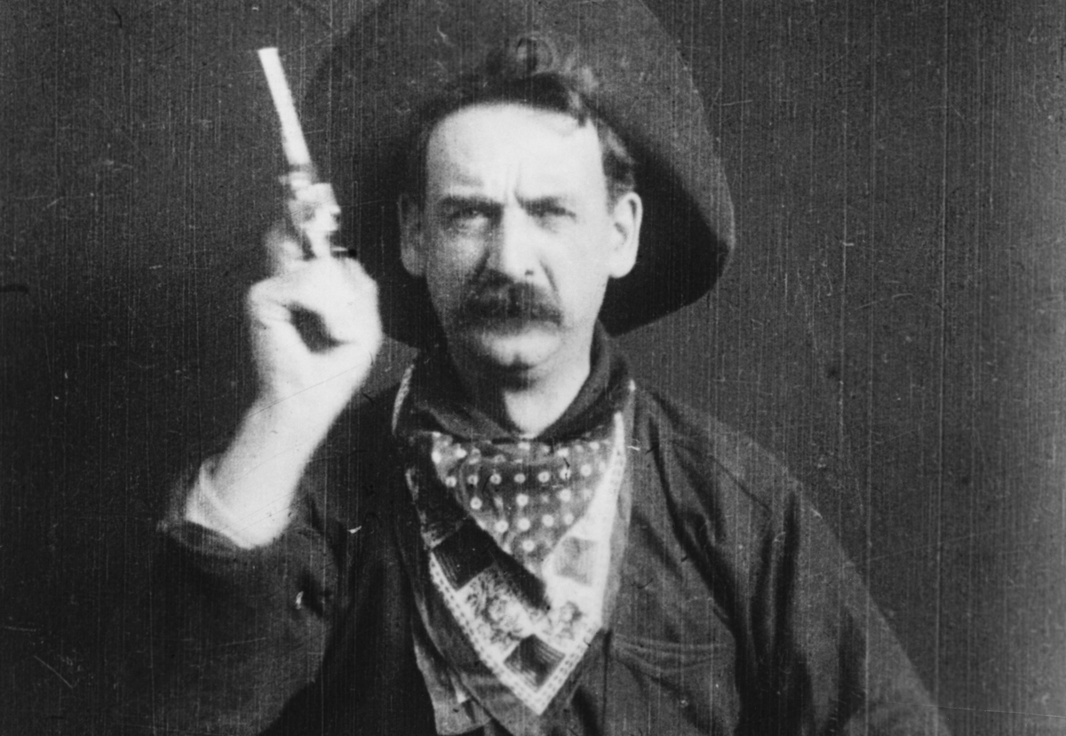 what is the first western film ever made