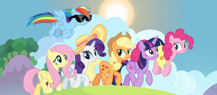 ponies in equestria