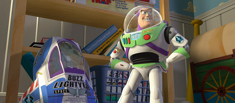 buzz lightyear from toy story