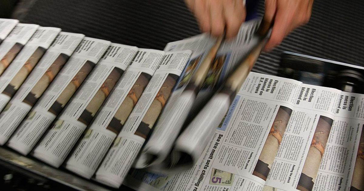 newspaper press