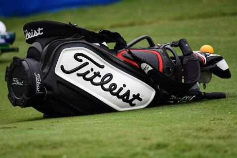 What is the standard number of clubs in a golf bag?