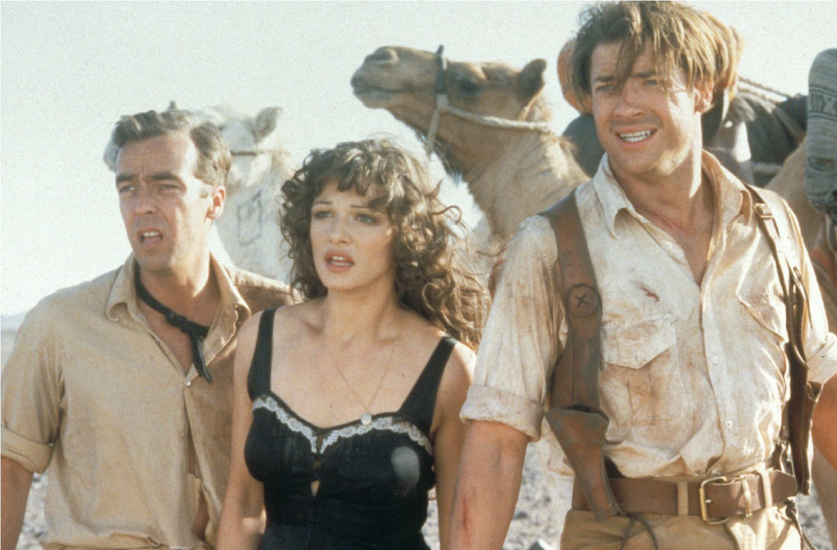 the main cast of the mummy