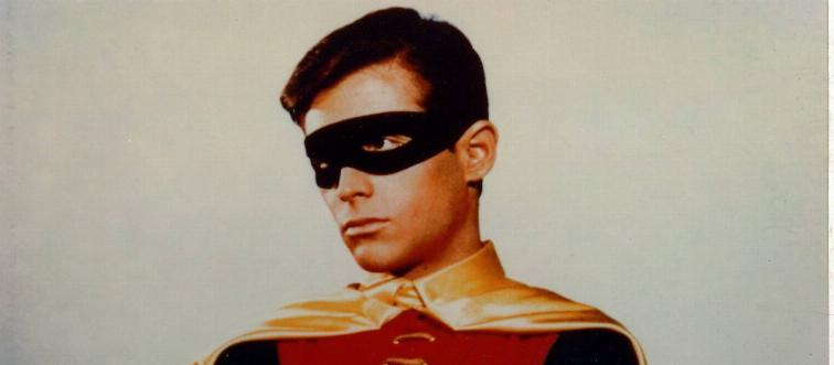 Burt Ward played which superhero's sidekick?