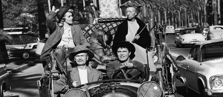 What is the name of the poor backwoods family in The Beverly Hillbillies?