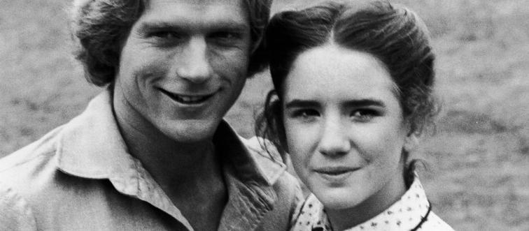 Melissa Gilbert And Dean Butler In 'Little House on the Prairie'